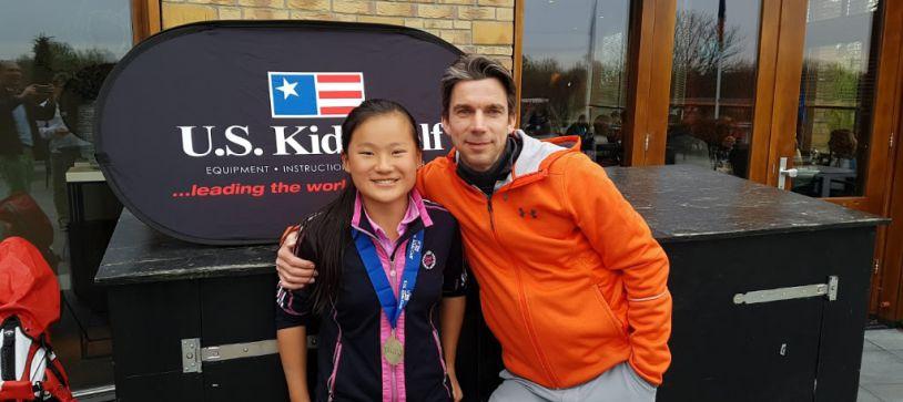 Eerste plaats US-Kids golf Naarderbos